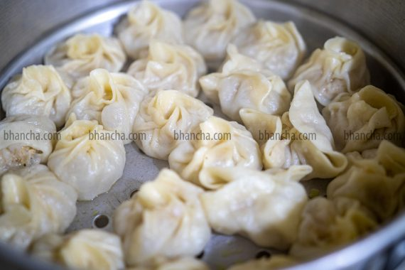 chicken momos steam